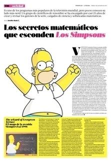 Los secretos matemáticos que esconden Los Simpsons   Tendencias   La Tercera Edición Impresa   Claudio Martínez   Scoop.it