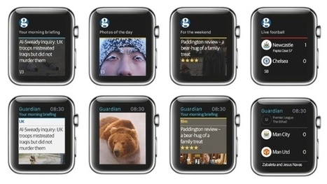 Introducing Moments from the Guardian App, built for Apple Watch | Pragmatic Web Management | Scoop.it