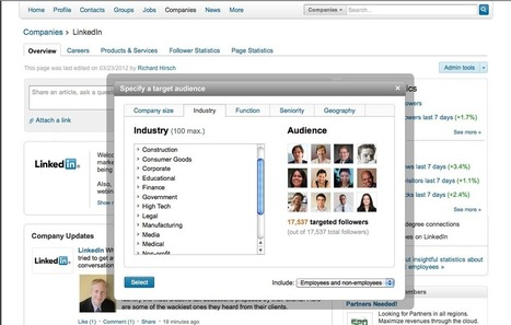 LinkedIn Rolls Out New Targeted Follower Tools For Marketers | digital marketing | Scoop.it