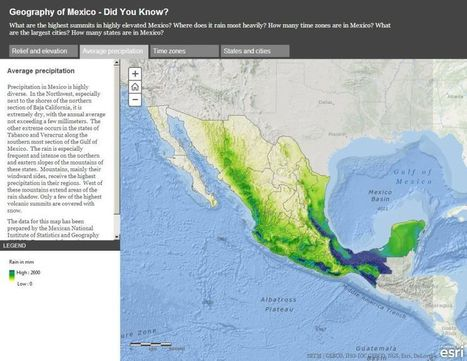 Exploring Mexico through Dynamic Web Maps | Geography Education | Scoop.it