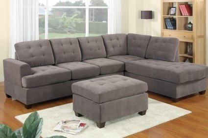 Bobkona Sectional Sofa With Ottoman   2014   Scoop.it