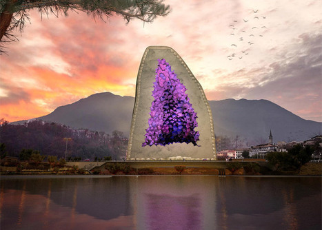 NL Architects proposes hotel modelled on Amethyst crystals | Form, Structure & Complex Geometry Innovations | Scoop.it