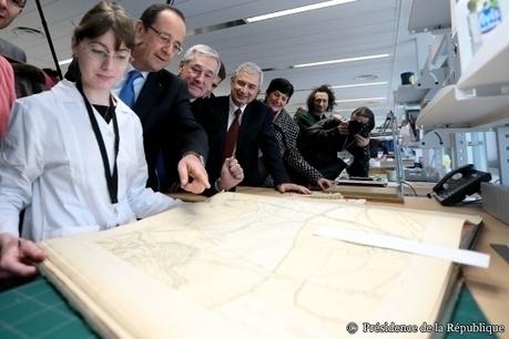 À Pierrefitte, le Président s'exprime sur le rôle des Archives   L'Union Généalogique Francilienne   L'écho d'antan   Scoop.it