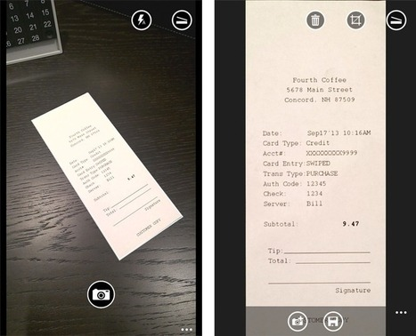 Office Lens: Receipt Management Made Easy   Chicago TTL   Scoop.it