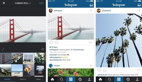 Instagram photos no longer have to be square | Social Media, SEO, Mobile, Digital Marketing | Scoop.it