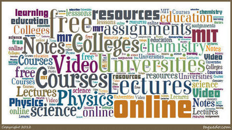 25 Universities and Colleges offering Free Courses Online | Educational Technology in Higher Education | Scoop.it