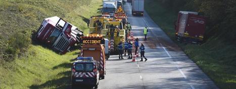 Sécurité routière : le nombre de morts sur les routes françaises en baisse de 9% en août   Au hasard   Scoop.it