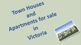 Modern Town Houses for sale in Victoria | Reflectionsestate | Scoop.it