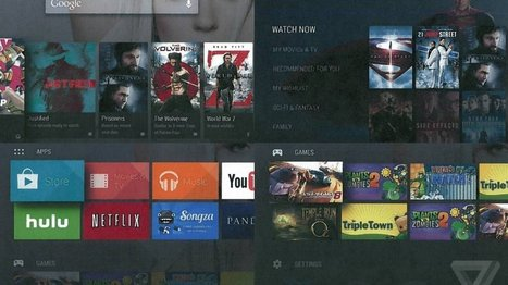 Exclusive: this is Android TV | Streaming and Second Screen Services | Scoop.it