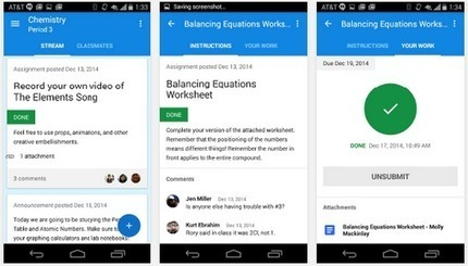 Google Classroom Is Now Available for Both iPad and Android | 21st Century Concepts-Technology in the Classroom | Scoop.it