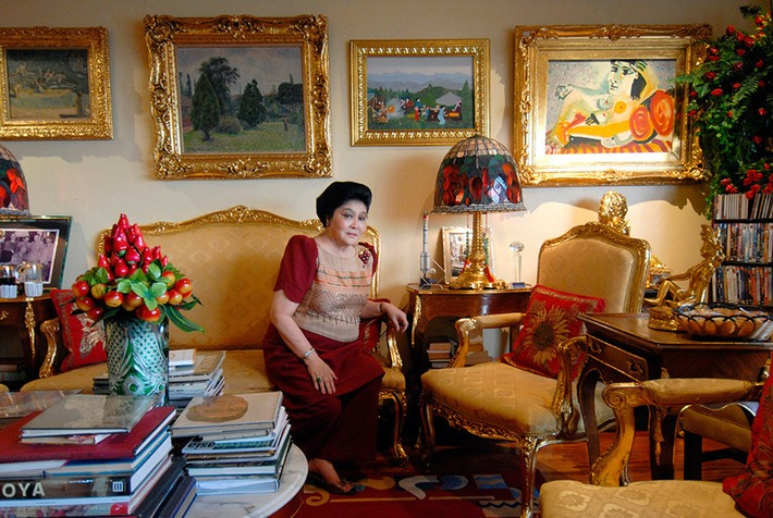 Philippines seizes art from a Manila property of former first lady Imelda Marcos   Art Daily   Asie   Scoop.it