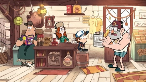 Why Gravity Falls Is the Smartest Cartoon on Television | Transmedia: Storytelling for the Digital Age | Young Adult and Children's Stories | Scoop.it