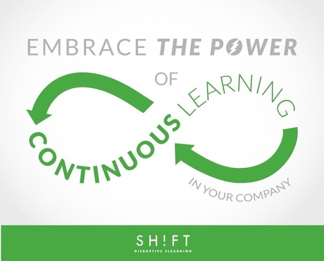 Learning Is Not a One-Time Event! Promote Continuous Learning | E-Learning, Formación, Aprendizaje y Gestión del Conocimiento con TIC en pequeñas dosis. | Scoop.it