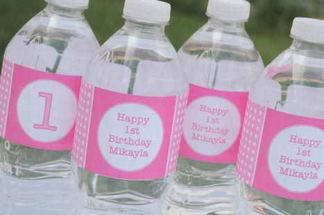 Personalized Bottled Water Labels | Custom Label Bottle Water | Scoop.it