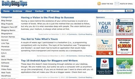 How To Keep Your Blog Moving Forward | Omega Web | Best Marketing Apps | Scoop.it