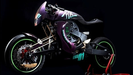 Revolver, the New Air-Powered Bike Concept | motorcycle technology | Scoop.it
