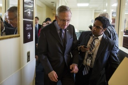 Senate Majority Leader Harry Reid Hospitalized This Morning