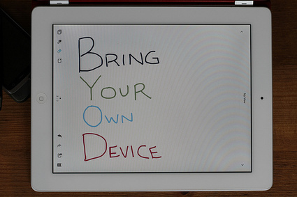 Bring your own « Another dot in the blogosphere? | BYOT @ School | Scoop.it