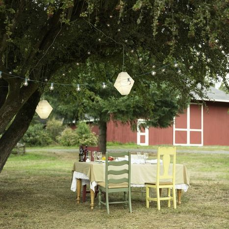 Garage sale table and chairs | Upcycled Garden Style | Scoop.it