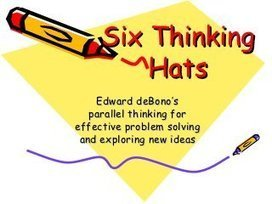 De Bono Six Thinking Hats Method Summary
