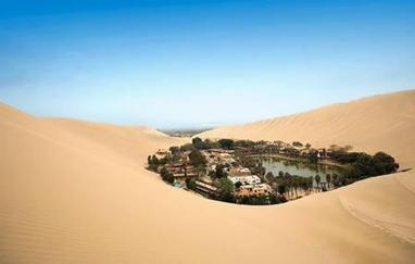 Happy Friday! Enjoy this picture from the Huacachina, Ica-Peru. The Huacachina,...   Green Waters Natural Places to Go   Scoop.it