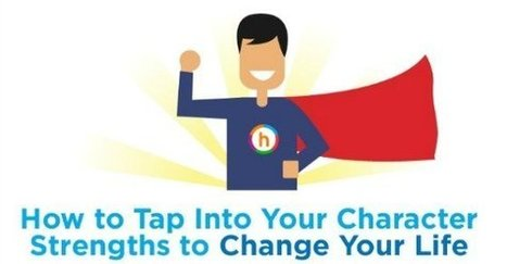 INFOGRAPHIC: How to Tap Into Your Character Strengths to Improve Your Life | Psychology | Scoop.it