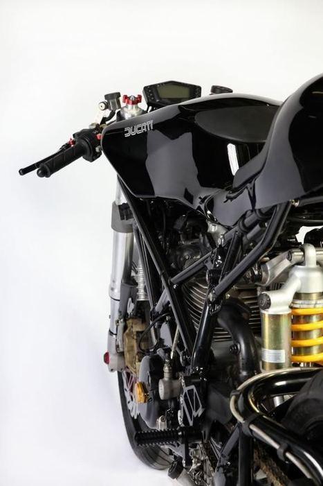 we-r-stubborn: Moto Motivo 900ie Cafe Racer | '94 Ducati 900SS | Scoop.it