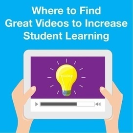 Where to Find Great Videos to Increase Student Learning | Instructional Design and Performance Improvement | Scoop.it