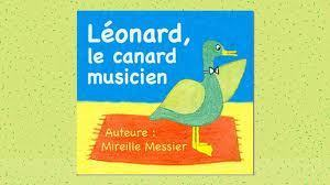 Léonard, le canard musicien | FLE enfants | Scoop.it