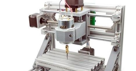 Faz você mesmo: Fresa DIY CNC 3! E um Drone DIY, automatizar a Net, GrabCAD Print, e a FromBox | Heron | Scoop.it