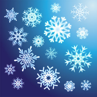 8 Free Snowflake Vectors for Your Winter Designs | e-learning y moodle | Scoop.it