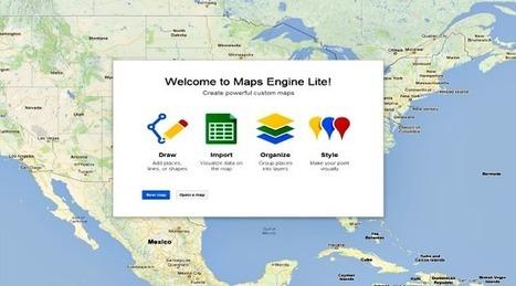 Crea y personaliza tus mapas con Google Maps Engine - Pymex   Antonio Galvez   Scoop.it