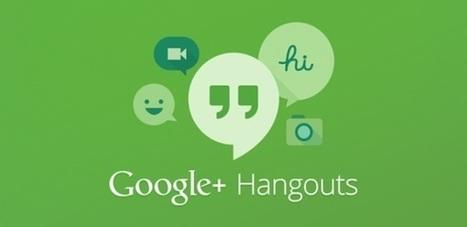 6 interesantes cosas que puedes hacer con los Hangouts de Google+ (videollamadas) | RED.ED.TIC | Scoop.it