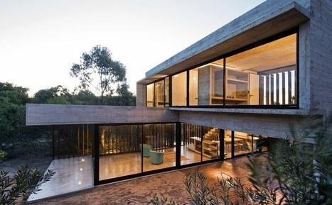 maison contemporaine en 2 volumes au m l. Black Bedroom Furniture Sets. Home Design Ideas