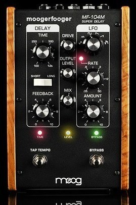 Moog Music Releases Limited-Edition MF-104M Super Delay | Gear Acquisition Syndrome | Scoop.it