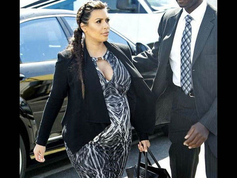 Kim Kardashian's Baby Shower Ceremony | Baby Shower and Diaper Cakes | Scoop.it