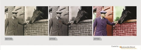 Turn your black and white photo to color photo at £3.99 | Photo Restoration | Scoop.it
