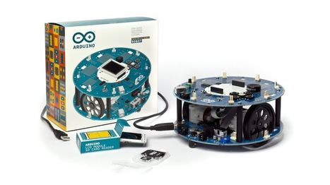 Arduino launches its first robot kit complete with wheels | Chips | Geek.com | Heron | Scoop.it