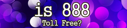 are 888 numbers toll fre | etollfree | Scoop.it