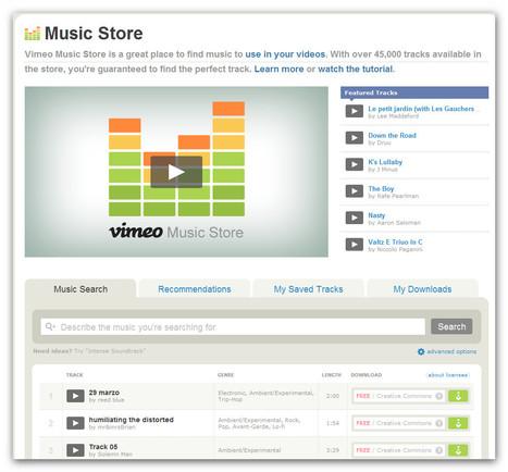Vimeo Music Store | Machinimania | Scoop.it