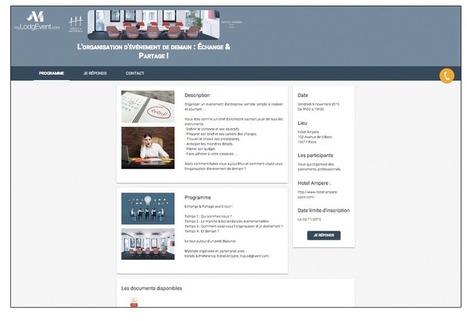 Organiser un séminaire sur une plateforme événementielle - myLodgEvent.com | Au cœur de l'Evénementiel | Scoop.it