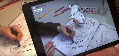 Disney crée un cahier de coloriage sur tablette qui anime les dessins en temps réel | Creapills : média et moteur de recherche d'idées créatives | La révolution numérique - Digital Revolution | Scoop.it