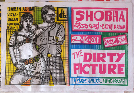 Awesome hand drawn movie posters from India | Culture and Fun - Art | Scoop.it
