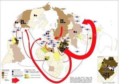 Carte : Conflits, présence militaire et ressources énergétiques (Cartographier le présent) | Géographie des conflits | Scoop.it