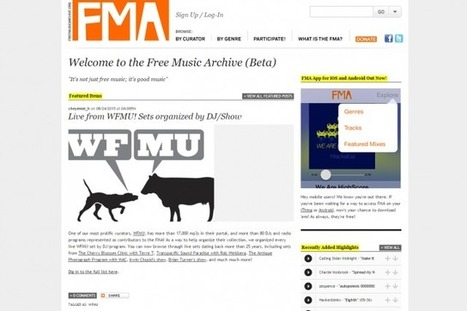 11 sites for free, legal music downloads | Bugigangas Virtuais | Scoop.it