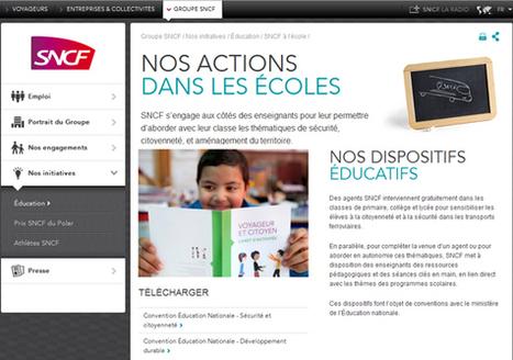 La SNCF lance ses nouvelles ressources pédagogiques à destination des enseignants, Cycle 3, Collège et Lycée     E-apprentissage   Scoop.it