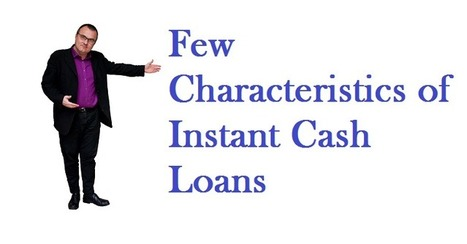 How instant cash loans support you to access the needful cash support? | Payday Loans No Credit Check | Scoop.it