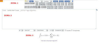 En la nube TIC: Editor en línea de ecuaciones Codecogs | EDUDIARI 2.0 DE jluisbloc | Scoop.it