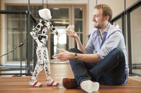 Poppy, el robot que se puede construir en casa con una impresora 3D | GeekNautas | Scoop.it