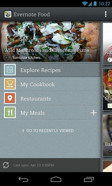 Explore & save recipes - Evernote food app | Food and Garden Fun | Scoop.it